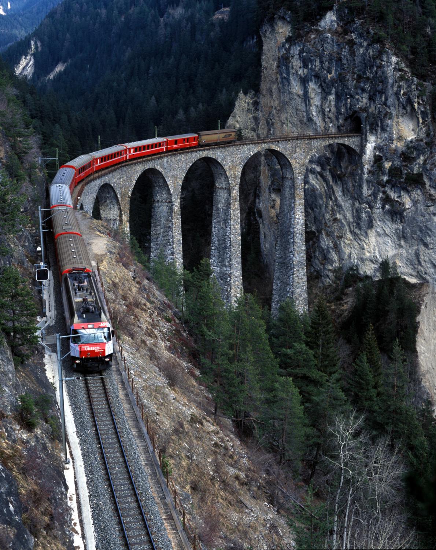 Filisur viaduct-glacier expres