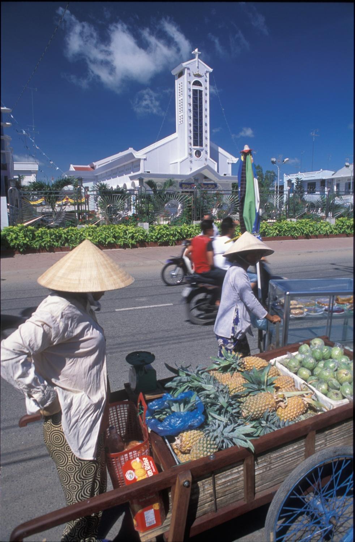 kostel v Chau Doc