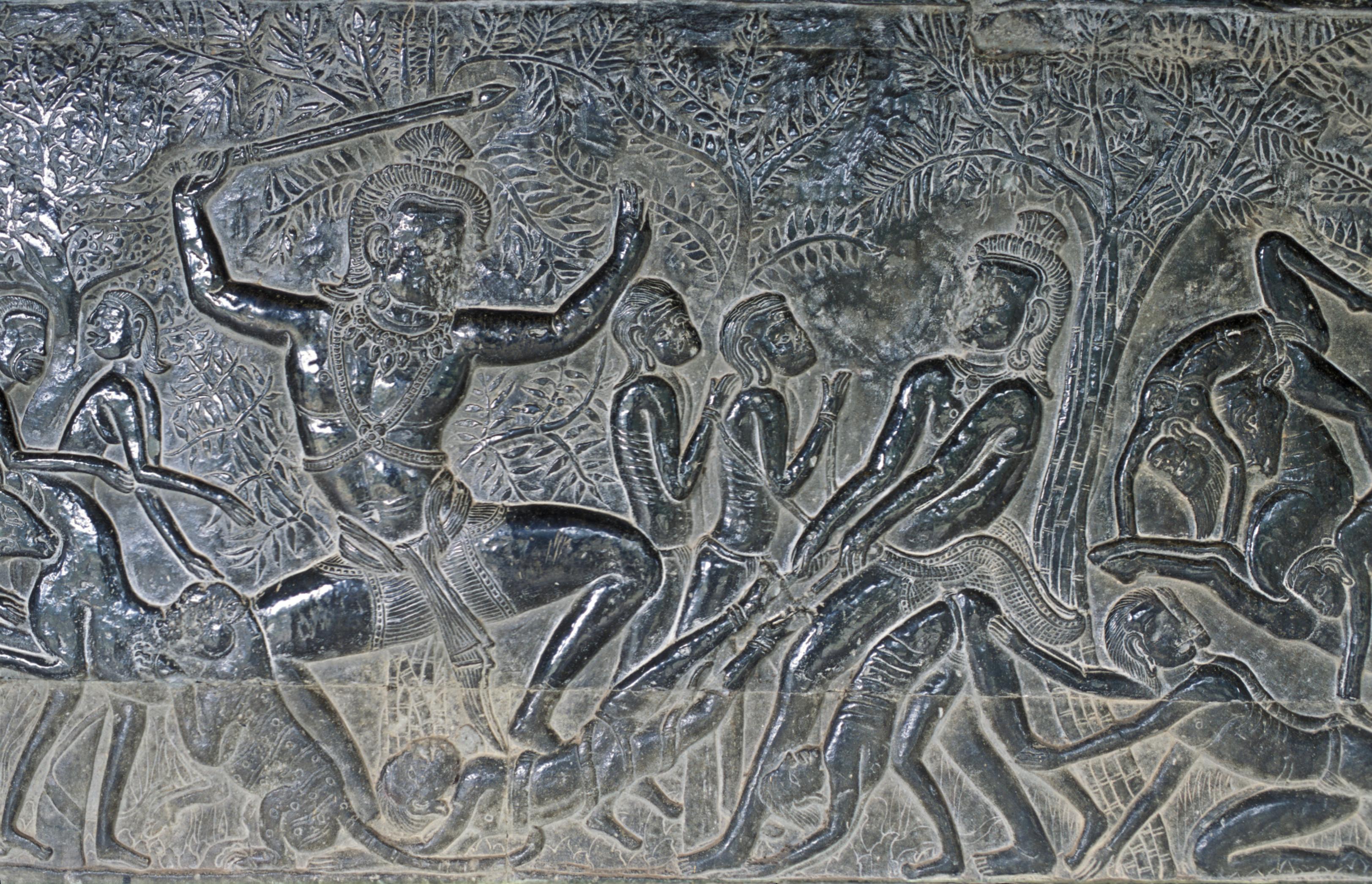 Siva dance – Angkor Wat