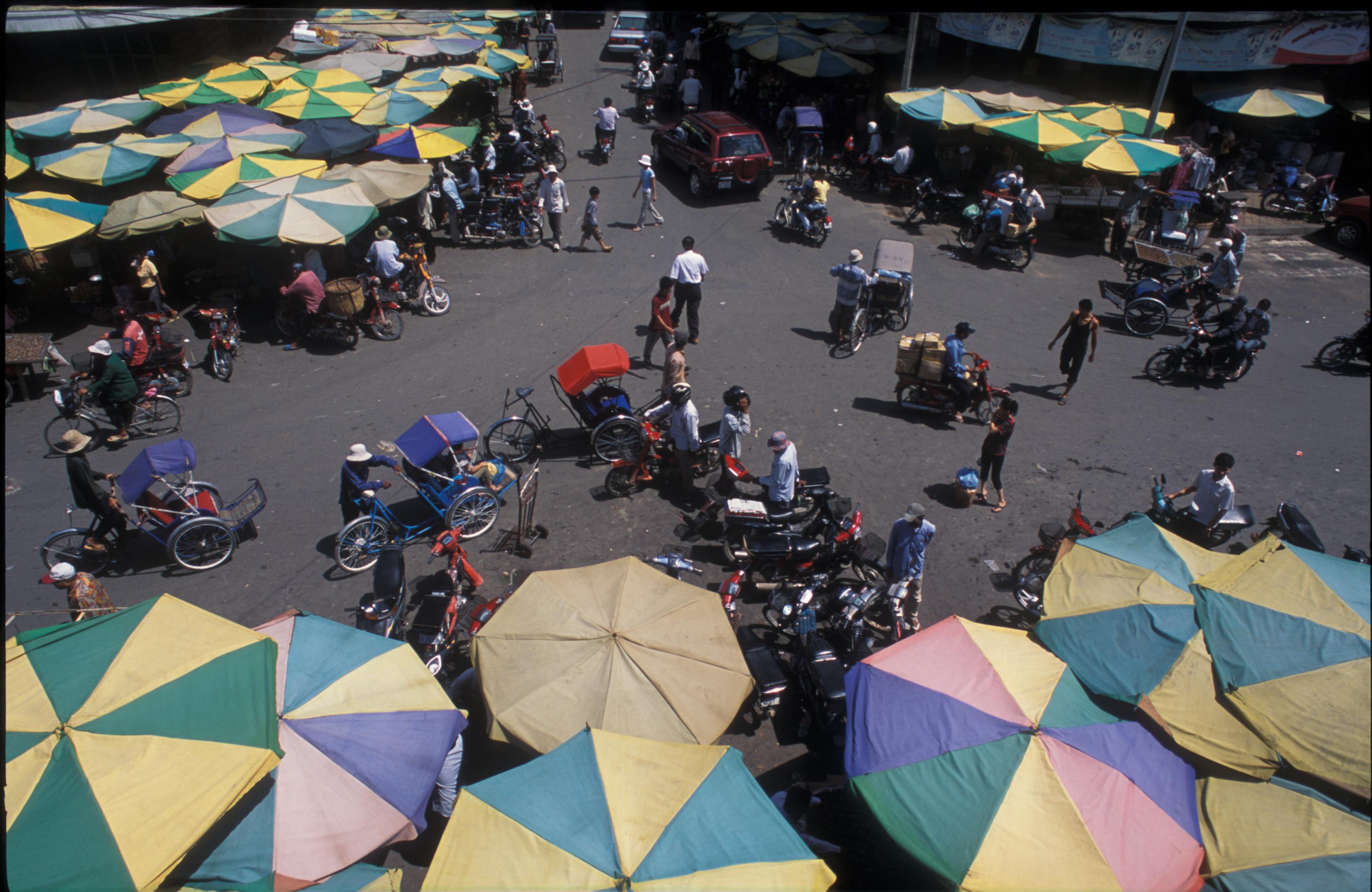 market Kratje PhnomPenh
