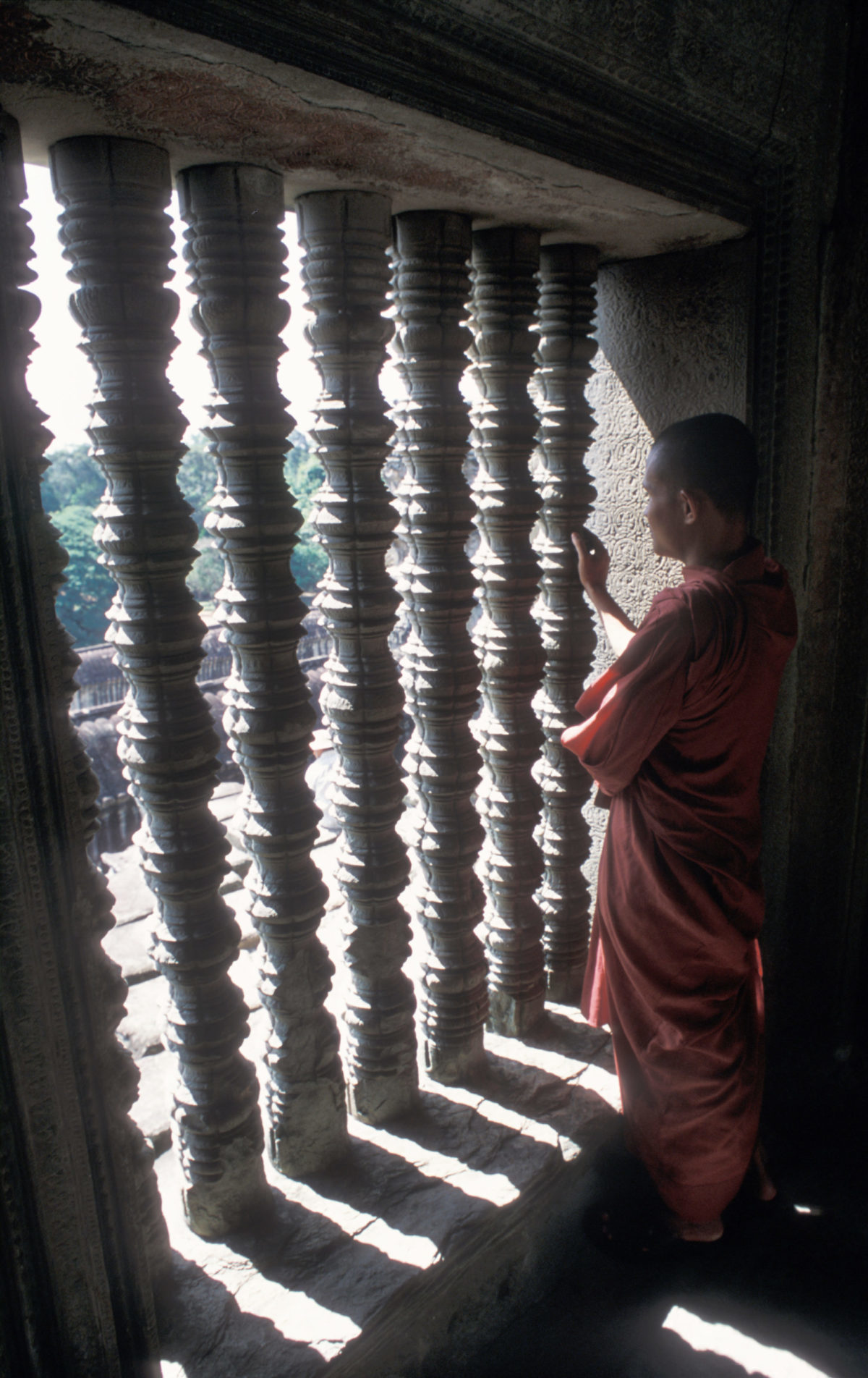 monk – Bayon pagoda